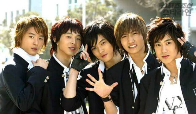 東方神起のメンバーの5人時代の人気順ランキング!
