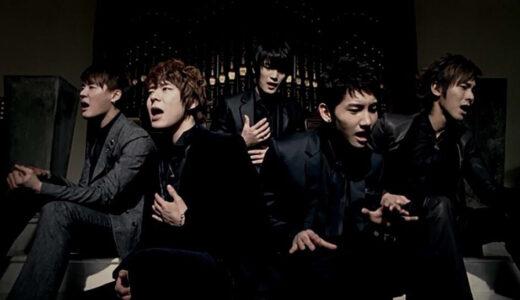東方神起の5人メンバー時代の人気曲・隠れた名曲ランキング!